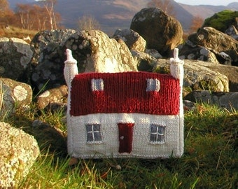 Red Roof Croft House Knitting Pattern
