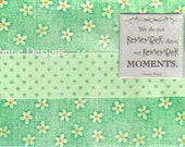 Handmade Remember Moments Greeting Card
