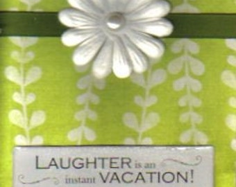Handmade Laughter Greeting Card