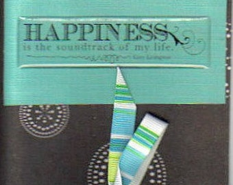 Handmade Life's Happiness Greeting Card