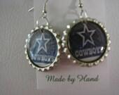 The Cowboys Bottlecap earrings