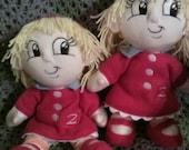 Custom Childs Doll 3 to 7 yrs