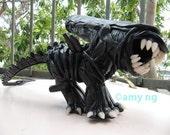 Alien My Little Pony - custom OOAK