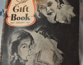Beautiful 1944 Pattern Book - Knit - Crochet - Tat - TONS of Patterns