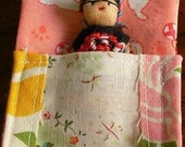 Guatemalan Worry Doll in Sleeping Pouch
