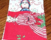 Holiday Guatemalan Worry Doll in sleeping pouch