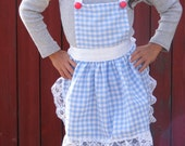 Children's Apron, Dorothy's The Wizard of Oz Inspired Apron