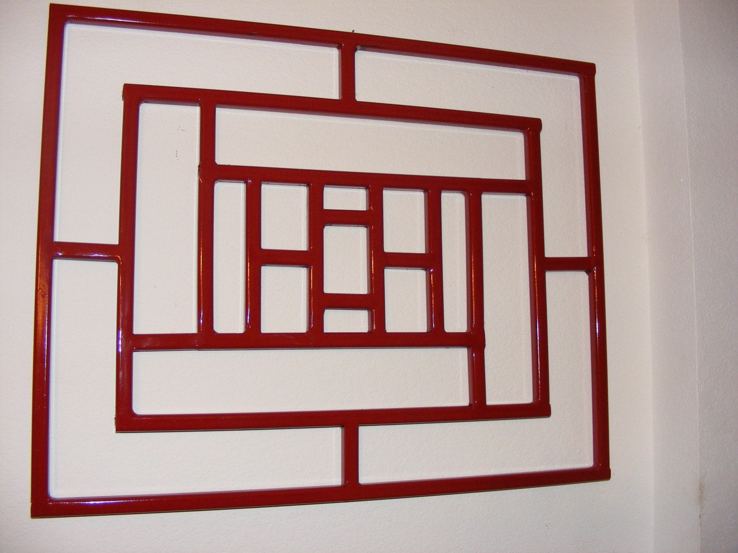 RESERVED Contemporary Wrought Iron Wall Art/Decor/ By