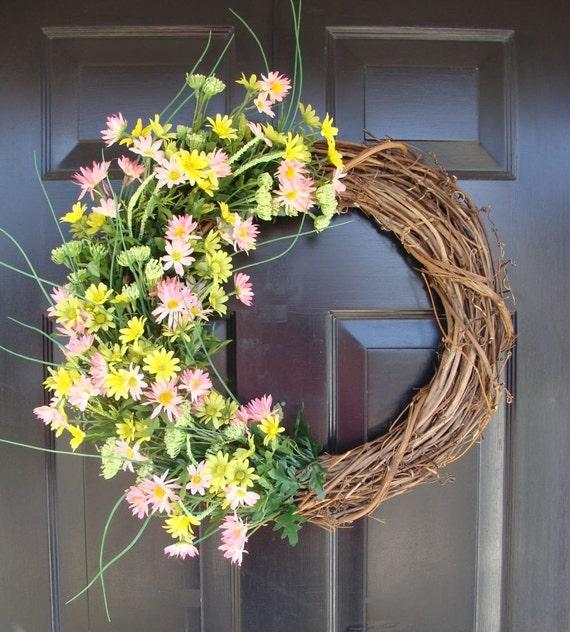 Spring Garden Blooms Wreath- Last One