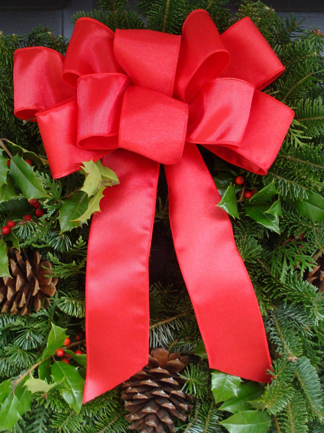 Christmas Bow Christmas Decoration Christmas Decor