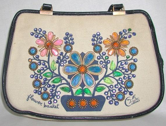 Enid Collins Vintage Purse  ... Collins of Texas, vintage handbag