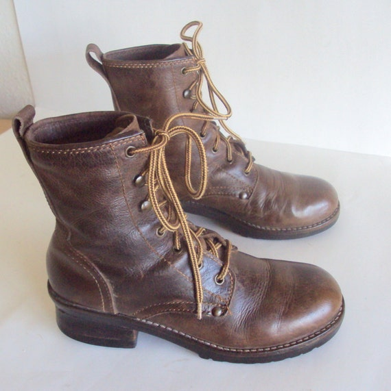 Excellent Vintage Hiking Boots 1970s Womens 8 By XoUda On Etsy