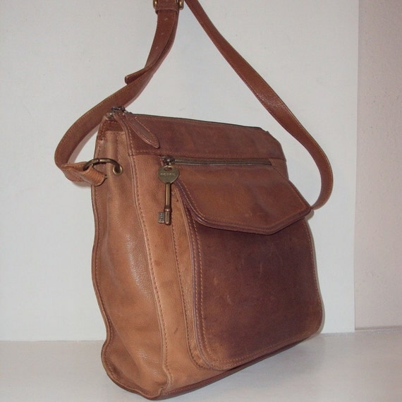 Fossil Leather Shoulder Bag 24