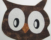 Applique Template in PDF Format - Manga Owlet