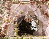 Dollhouse Romantic Rose Gazebo