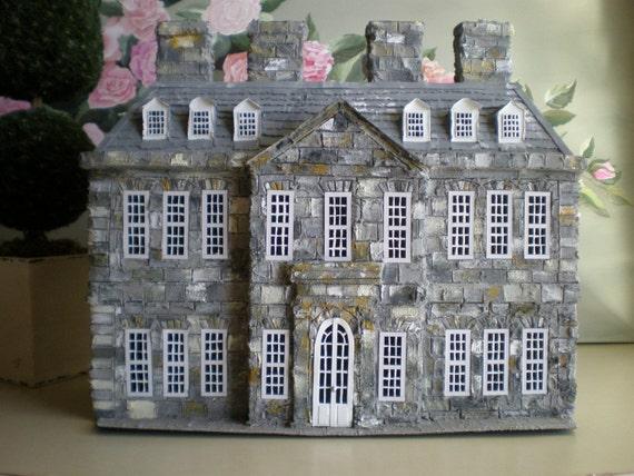 Antony House Alice in Wonderland Estate Miniature Model
