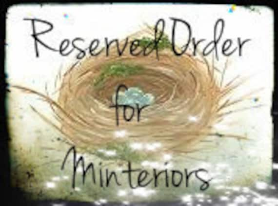 Reserved for Minteriors