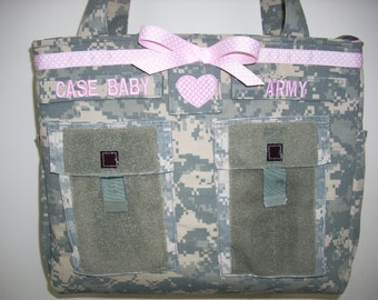 Popular items for camo diaper bag on Etsy