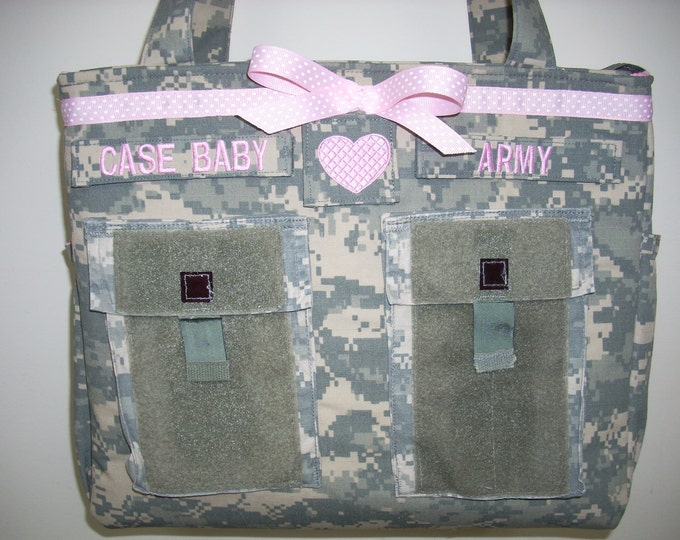 Army wife diaper bags trending now personalized customized Army Multicam Navy Air Force Marines your choice colors words you design it