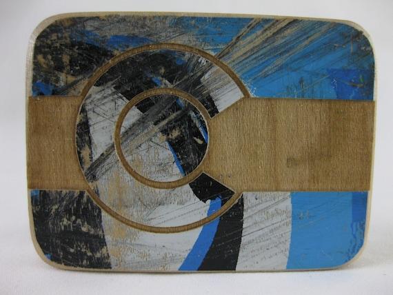Reclaimed Skateboard Beltbuckle