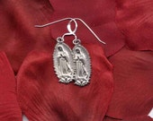 Silver Guadalupe Earrings- a Great Basic for Everyday