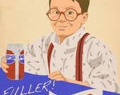 Fuller, Go Easy on the Pepsi Print (HOME ALONE)