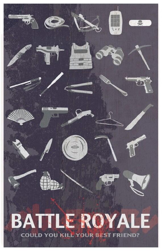 BATTLE ROYALE Original Poster Design