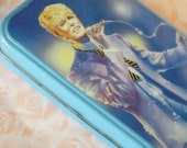 80s Vintage Tin Pencilcase with David Bowie