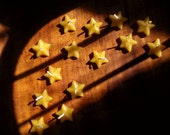 handful of stars/ pure beeswax star candles (set of 12)