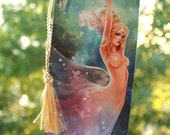 The Summoning bookmark. angel fairy butterfly forest