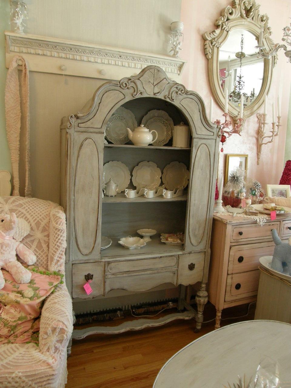 custom order french blue antique china by vintagechicfurniture. Black Bedroom Furniture Sets. Home Design Ideas
