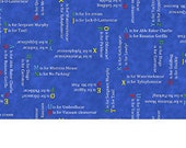Words in Blue, Busytown A to Z