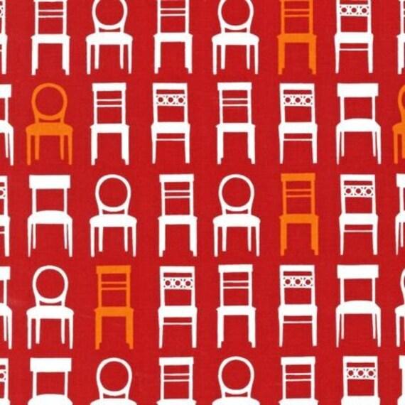 Seats in Sorbet, Tufted Tweets by Laurie Wisbrun for Robert Kaufman HALF YARD