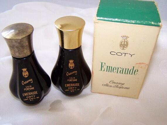 Coty Emeraude Cream Perfume