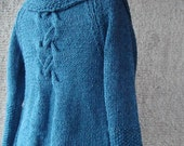 Teal   Grab and Go  Cardigan with 3/4  Sleeve - Outerwear