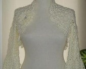 SPECIAL SALE - Ivory Shrug for Princess Brides - Express Delivery