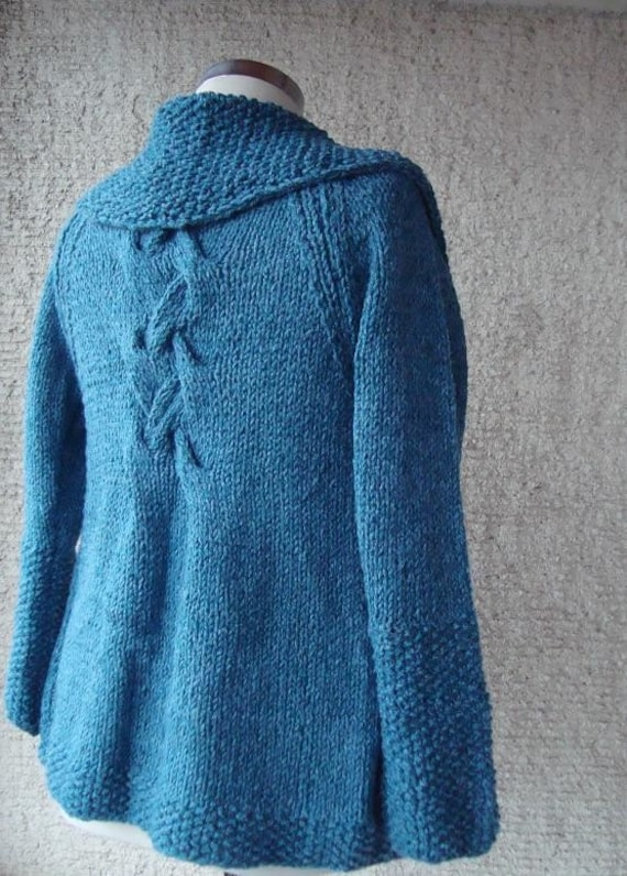 Teal   Grab and Go  Cardigan with Long Sleeve - Outerwear