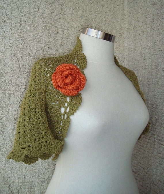 EXPRESS DELIVERY  Grass Green Shrug / Any Season