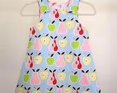 Infant Reversible Dress/Jumper - size NB (newborn), 3 months, 6 months, 12 months, 18 months