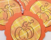 Pick of the Patch Fall Pumpkin Gift Tags - Set of 8