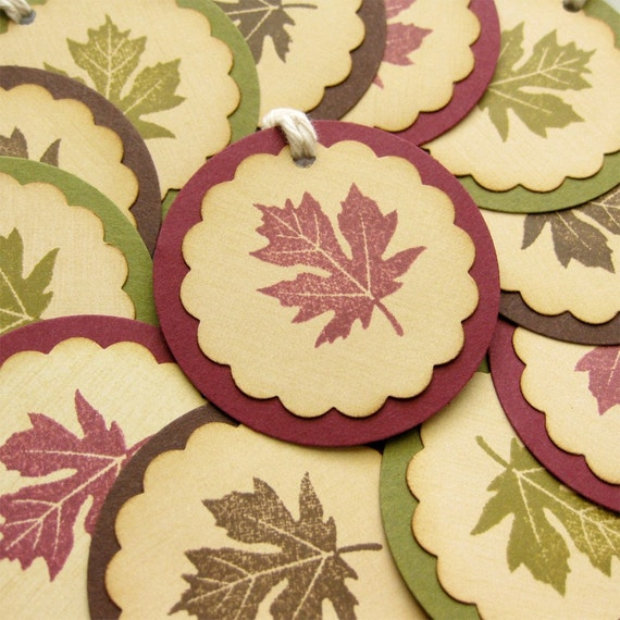 Autumn Palette Gift Tags