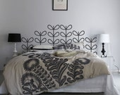CLEARANCE Sale 50% off - Harvest Flower headboard sticker