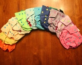 One Size  Pocket Artsy Fartsy Cloth Diapers - Build Your Own