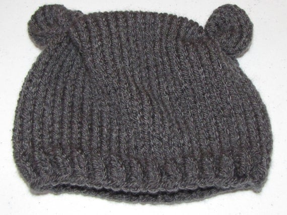 PATTERN ONLY Newborn Knit  Flour Sack Beanie (Permission to Sell Finished Items)
