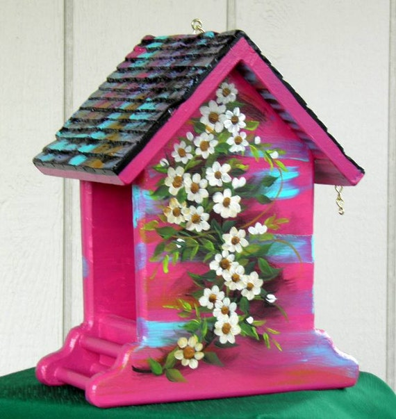 Rose Bird Feeder