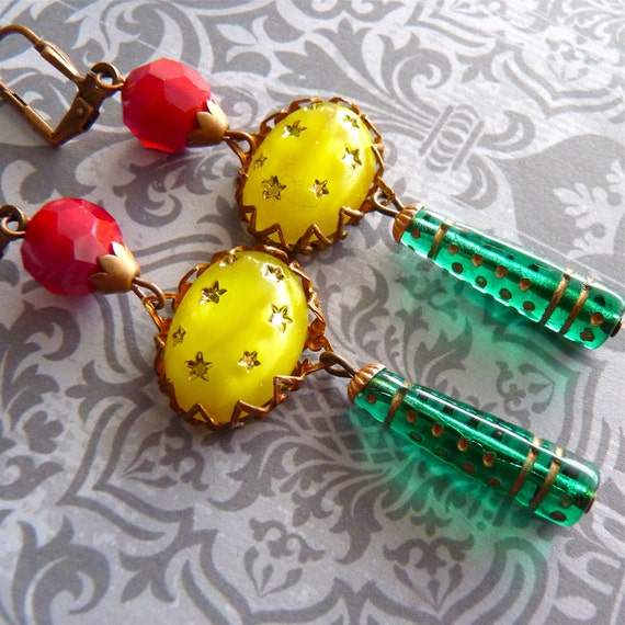 Earrings for a New Year's Midnight Kiss
