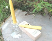 Beeswax Taper Candles, 6 inch - TW0 Boxes of Six Candles (12 candles total)