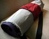 Red Cargo Pocket Yoga Bag
