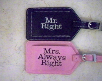 Mr. and Mrs. Right