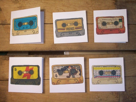 Songs Forever Note Cards - Set of 6